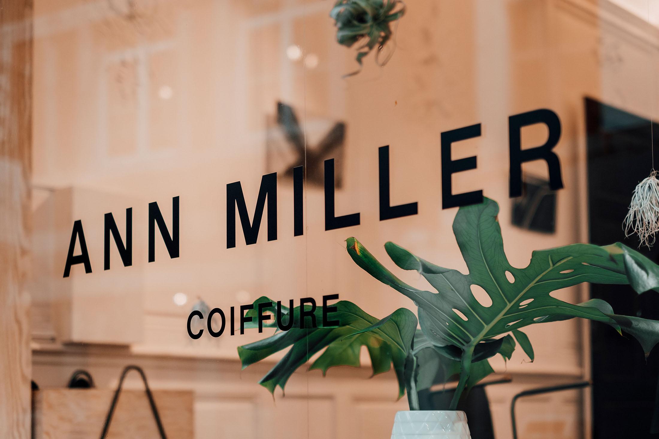 ANN MILLER coiffure / Le salon de coiffure à Liège